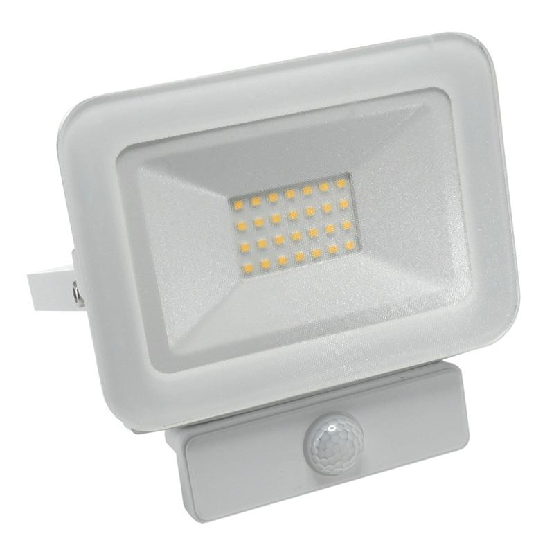 LED HQ reflektor 20W+PIR IP65 szenzor/4000K/WH/PS - LF2122S